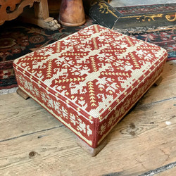 Tapestry Kneeler Stool