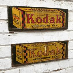 1950's Kodak Sign