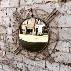 Mid Century Atomic Mirror