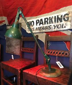 C.M.C of London Work Lamp