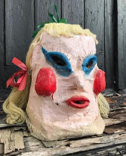 Papier Mache Carnival Mask