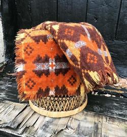 Brynkir Welsh Tapestry Baby Blanket