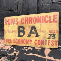 News Chronicle Sign