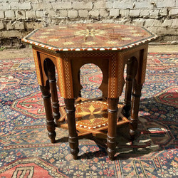 Spanish Inlay Table