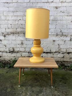 1960's Yellow Lamp