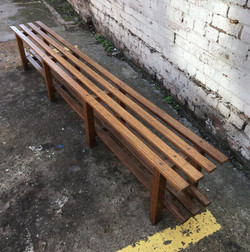 """94"""" Long - 60's Changing Room Bench"""