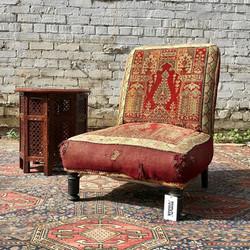 19th Persian Carpet Chair