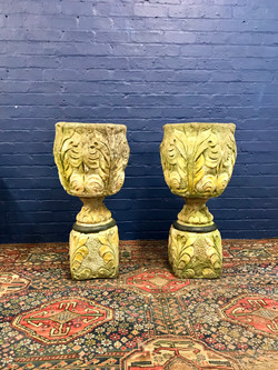 Large Pair of Urns