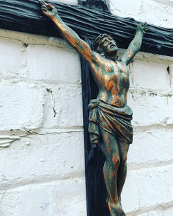 Large Christ On The Crucifix.