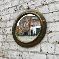 Mid Century Convex Mirror