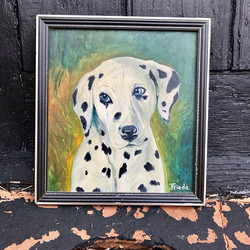 ___SOLD___ Eye catching oil on board pai