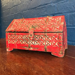 Indian Carved Box