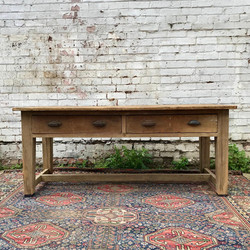 Victorian Kitchen Prep Table