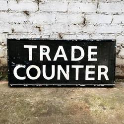 Trade Counter Sign