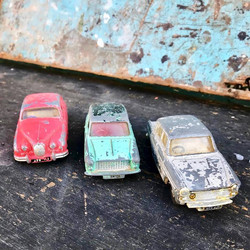 Vintage Spot On Tri-Ang Toy Cars