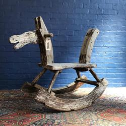 Scratch Built Rocking Horse