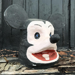 Papier Mache Carnival Theatre Mask