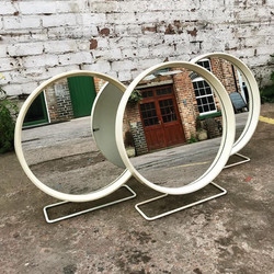 Space Age Stag Mirrors