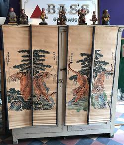 Oriental Scrolls - Tigers