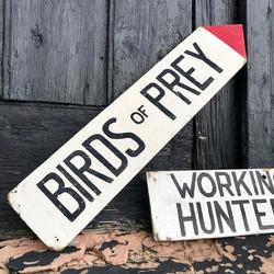 Birds Of Prey Sign