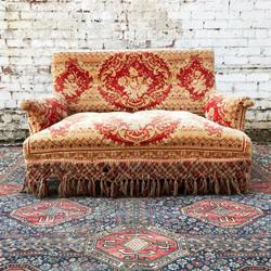 French 19th Century Carpet Sofa