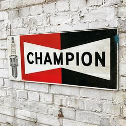 1970's Original Champion Sign