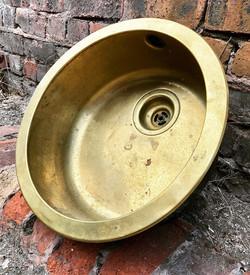 Reclaimed Brass Sink
