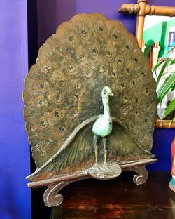 Peacock Firescreen
