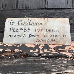 CoalMan Sign