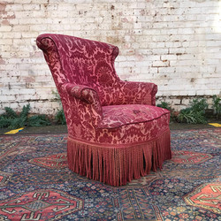 19th Century Tapestry Armchair