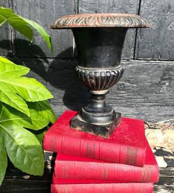 Victorian Cast Iron Urn