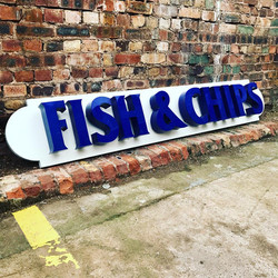 Fish & Chips Sign