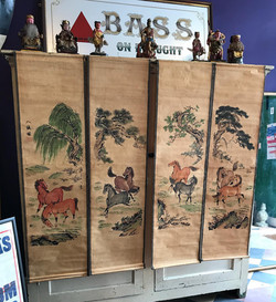 Oriental Scrolls - Horses