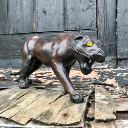 Leather Wrapped Panther