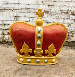 Large Vintage Fibreglass Crown