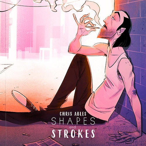 """""""Shapes and Strokes"""" Art Book (Paperback)"""