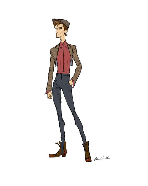 Men's Fashion Sketches