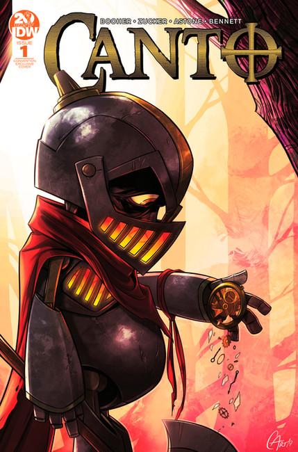 Canto, Issue #1 New York Comic-Con Exclusive Cover  David Booher & Drew Zucker   