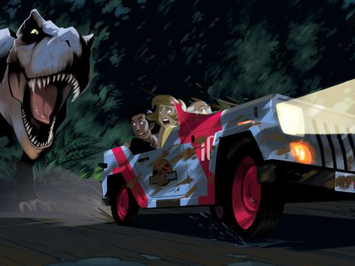 DesignerCon's Jurassic Park 25th Anniversary Art Show