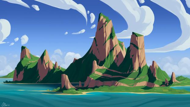 Environment - Tropical Fantasy Island