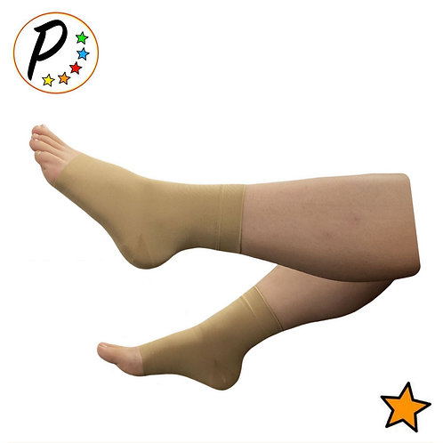 15-20 mmHg Moderate Compression Foot Swelling Leg Ankle Open Toe Sleeve