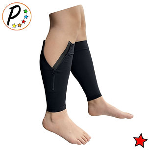 Premium Footless 20-30 mmHg Firm Compression Leg Calf Sleeve With YKK Zipper
