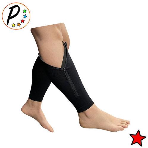Original Footless 20-30 mmHg Firm Compression Leg Shin Calf Sleeve With Zipper