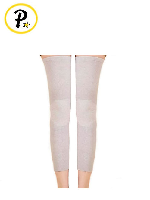 Bamboo Fibers Long Knee Sleeve Support