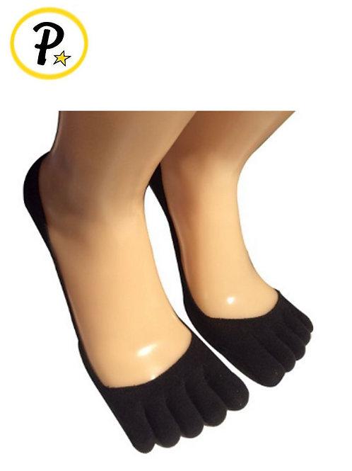 Invisible Five Toe Low Cut Socks