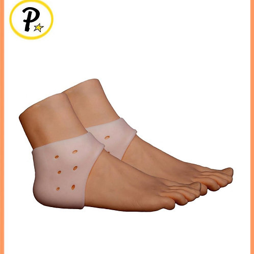 Foot Heel Plantar Fasciitis Gel Silicone Cushion With Breathable Air Support