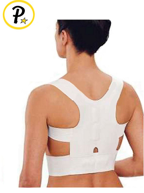 Women's Posture Back Corrector Support, White