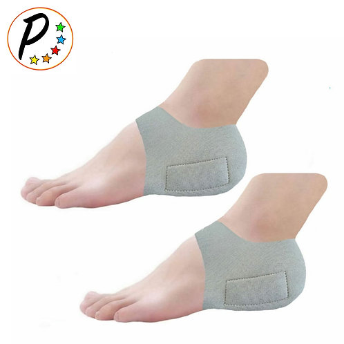 Neoprene With Built-In Gel Silicone Heel Cushioning Ankle Pain Relief Sleeve