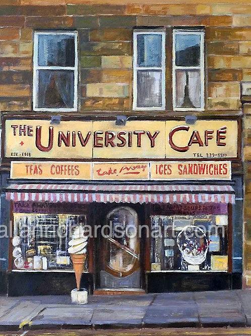 'University cafe'