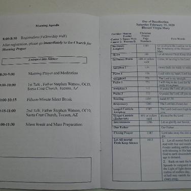 Program (p 2, 3)